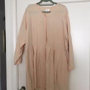 Flax Original Style Dress/Coat L Price Drop